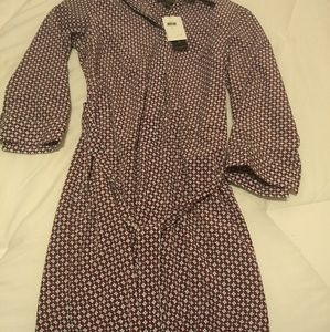 Banana Republic faux wrap dress